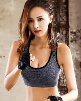 Shockproof no rims underwear beauty back sports Bra