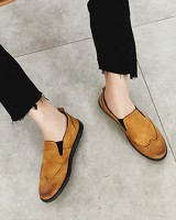 British style loafers autumn lazy shoes for men