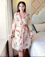 Autumn and winter pajamas at home bathrobes for women
