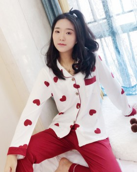Casual spring and autumn strawberries  2pcs set for women