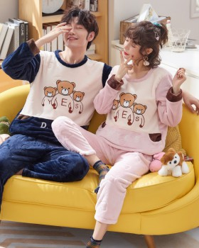 Couples homewear pajamas a set for women