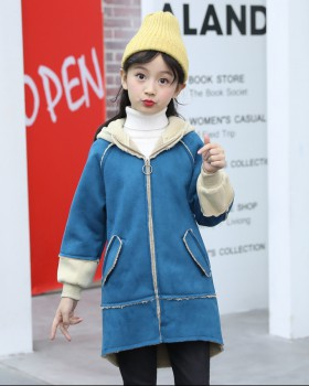 Girl Western style jacket fashion autumn overcoat