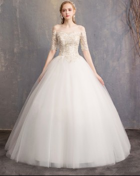 Wedding lace wedding dress bride formal dress