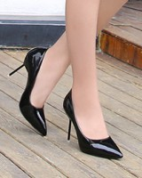 Large yard low profession high-heeled shoes for women