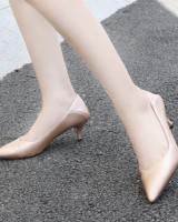 Small pointed sexy fashion Casual cozy high-heeled shoes