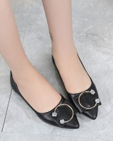 Korean style pointed all-match shoes for women