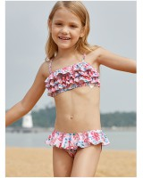 Sandy beach multilayer sling separates swimsuit a set