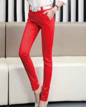 All-match temperament suit pants spring long pants for women