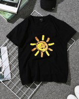 Loose summer tops Korean style T-shirt for women