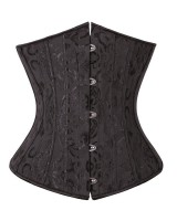 Jacquard sexy corset court style reinforced waistcoat