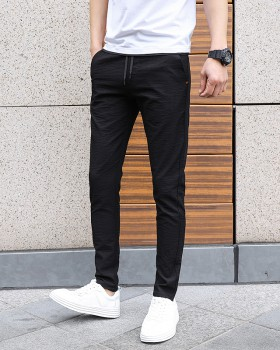 Slim Korean style casual pants summer long pants for men