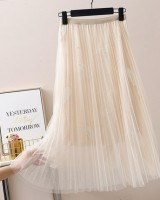 Long gauze autumn and winter spring lady fashionable skirt