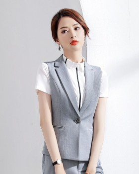Slim business suit temperament waistcoat for women