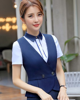 Spring and summer pony waistcoat short vest for women