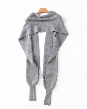 European style multifunction sweater long scarves