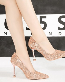 Sequins high-heeled shoes shoes for women