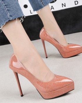 European style sexy high-heeled shoes fine-root shoes