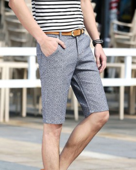 Cotton linen five pants summer shorts for men