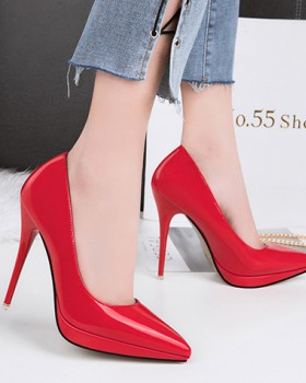 Sexy low high-heeled shoes fine-root shoes for women
