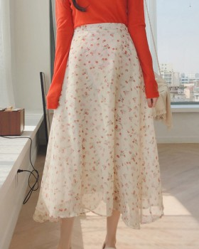 Lovely floral maiden ghost chiffon skirt