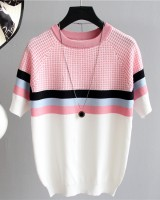 Korean style T-shirt pullover sweater for women