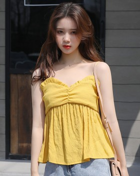 Sexy vest small strap bottoming shirt for women