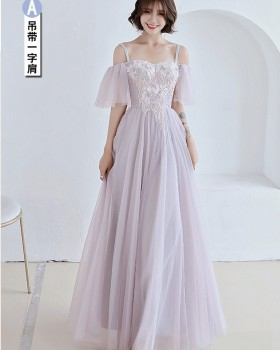 Spring Chinese style Korean style bridesmaid dress