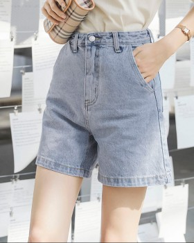 Slim pants Korean style short jeans for women