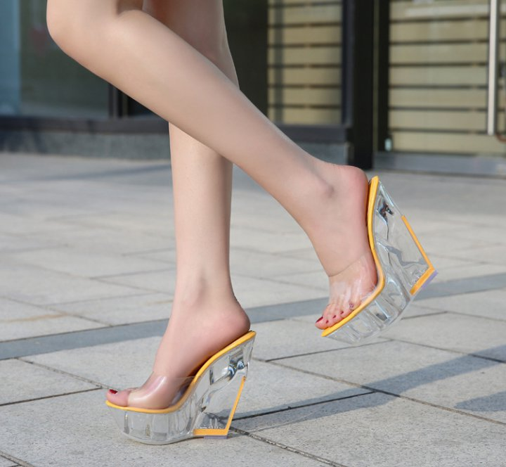 Sexy open toe sandals slipsole shoes for women