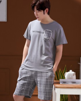 Short sleeve homewear wears outside pajamas a set