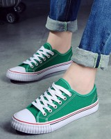 Casual canvas shoes Korean style cloth shoes for women