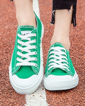 All-match student cloth shoes spring colors shoes for women