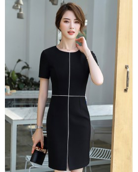 Ladies slim business suit all-match dress for women