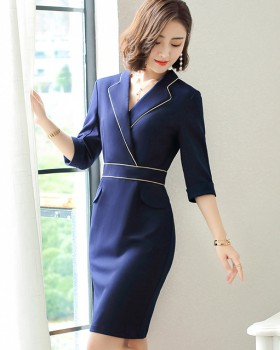 Overalls slim dress baby business suit for women