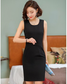 Korean style spring dress pure business suit for women