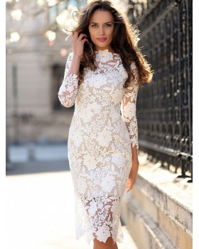 European style sexy dress lace T-back for women