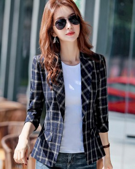 Short all-match business suit thin Casual coat for women