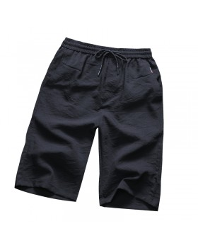 Gray summer cotton Casual tether youth sports shorts for men