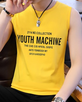 Summer cotton sportswear sleeveless vest for men