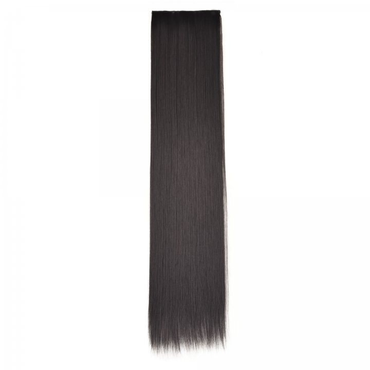 Tracelessness a slice hair extension lengthen wig for women