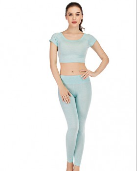 Yoga long pants pure performance clothing a set for women