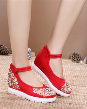 Spring Han clothing high national style shoes