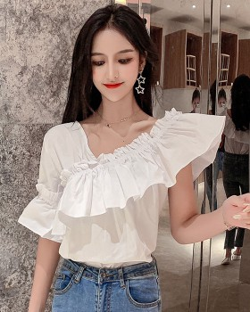 Beautiful sweet tops strapless shirt for women