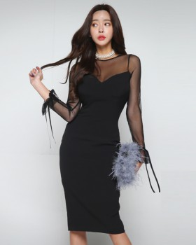 Summer temperament dress sexy formal dress for women