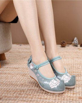 National style Han clothing lady all-match shoes for women