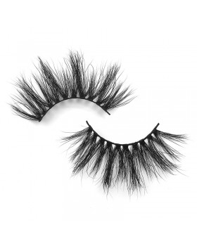 Handmade mink hair fake eyelash