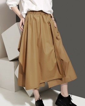 Summer loose culottes Casual wide leg pants