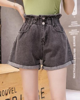 Slim sexy bud pants elasticity high waist shorts for women