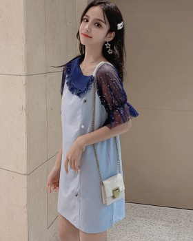 Summer temperament loose sweet lady fashionable dress for women