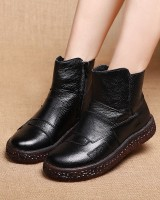 Retro short boots national style martin boots for women